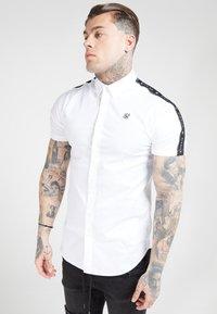 SIKSILK - PIPED TAPE - Shirt - white - 0
