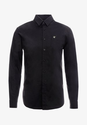 SIKSILK LONG SLEEVE SMART SHIRT - Chemise - black