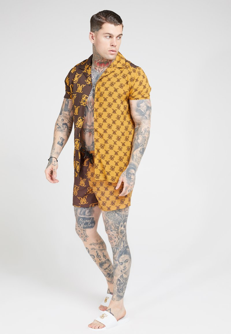 SIKSILK - RESORT SHIRT - Camicia - tan/brown