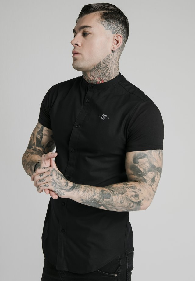 STANDARD COLLAR SHIRT - Hemd - black