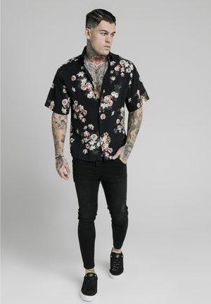 PRESTIGE FLORAL RESORT - Skjorte - black