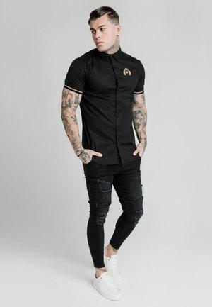 PRESTIGE INSET CUFF  - Camicia - black