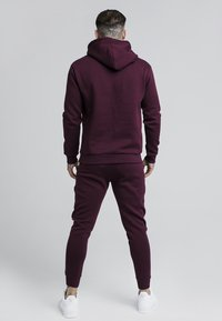 SIKSILK - Pantalon de survêtement - burgundy - 2