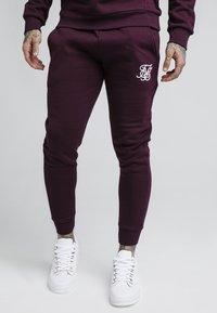 SIKSILK - Pantalon de survêtement - burgundy - 0