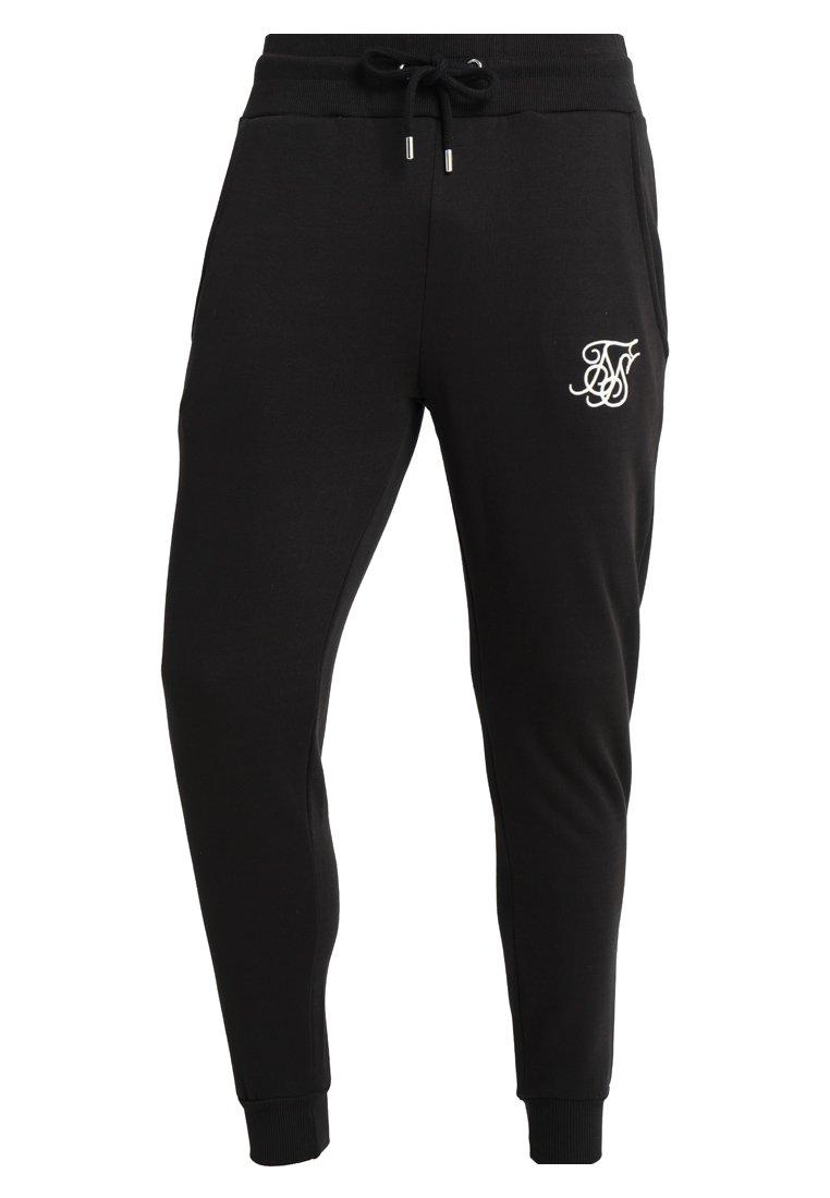 SIKSILK Spodnie treningowe - black