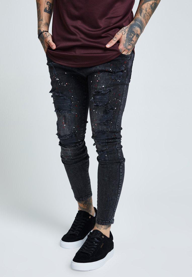SIKSILK - RIOT SUPER - Jeans Skinny Fit - washed black