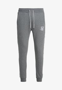 SIKSILK - Tracksuit bottoms - grey marl/snow marl - 3