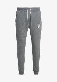 SIKSILK - Pantalon de survêtement - grey marl/snow marl - 3