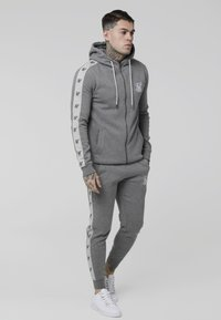 SIKSILK - Tracksuit bottoms - grey marl/snow marl - 1