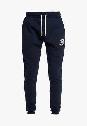 RETRO PANEL TAPE - Pantaloni sportivi - navy/red/off white