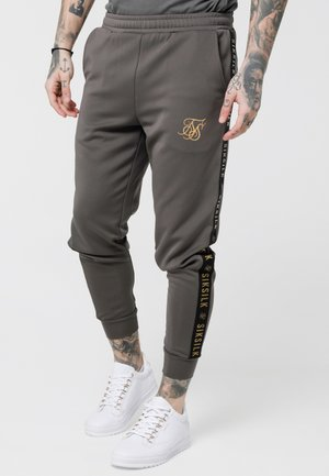CUFFED CROPPED TAPED  - Trainingsbroek - cement