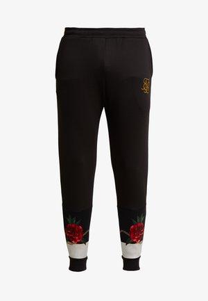MAJESTIC CUFFED CROPPED - Pantaloni sportivi - black