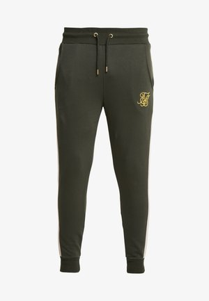 PANELLED - Trainingsbroek - khaki/cream/gold