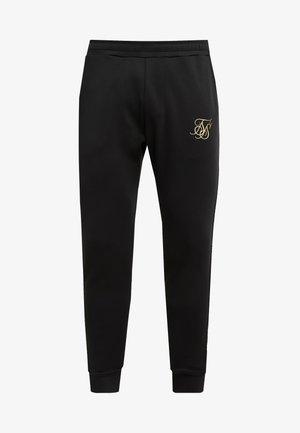 CUFFED CROPPED TAPED  - Pantalones deportivos - black