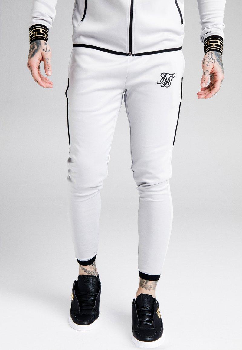 SIKSILK - SCOPE CARTEL TRACK PANTS - Tracksuit bottoms - ice grey