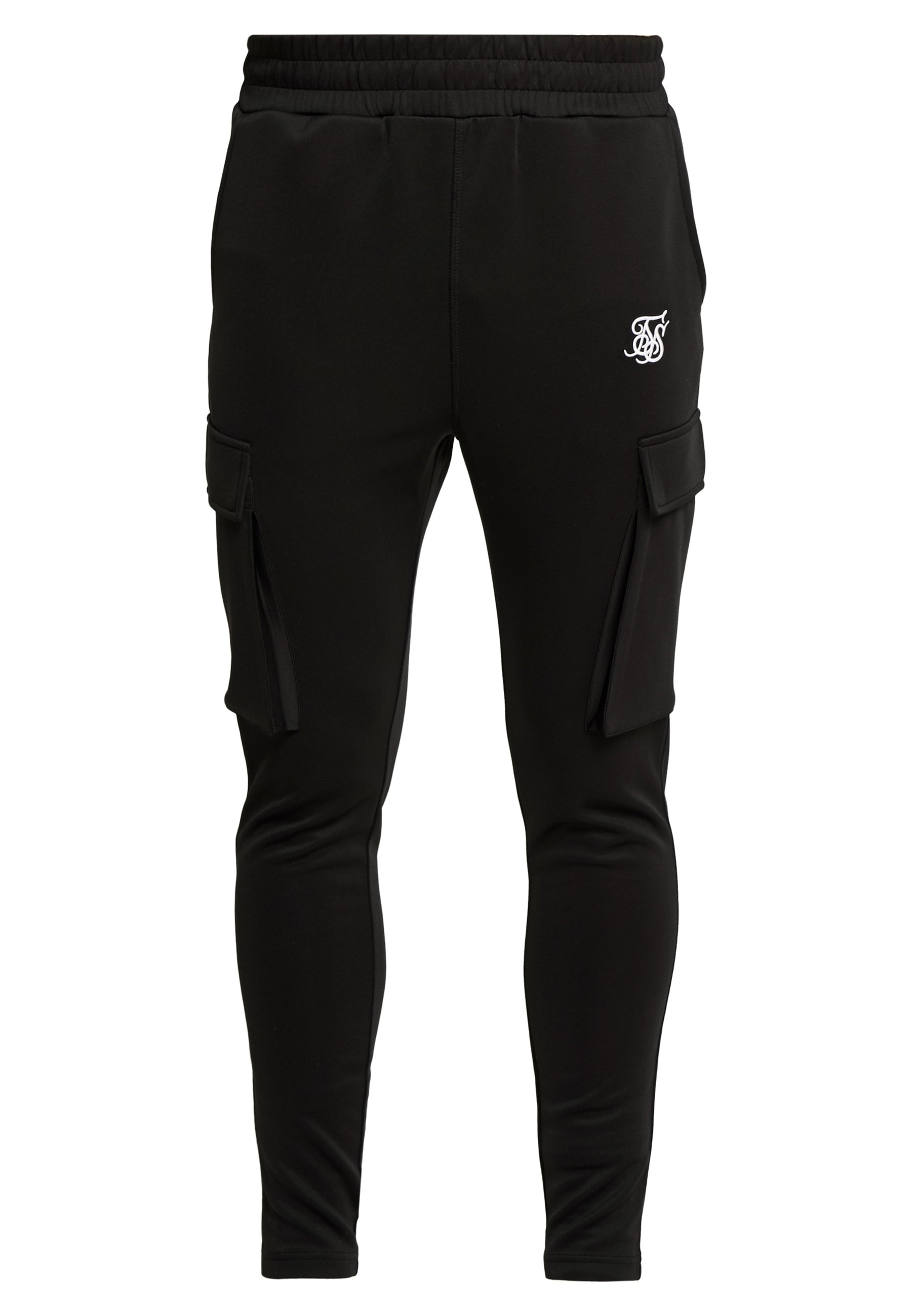 Siksilk Athlete Cargo Pants - Pantalon Black