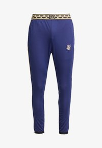 SIKSILK - SCOPE TRACK PANTS CARTEL - Pantalon de survêtement - navy/gold - 3