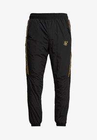 SIKSILK - CRUSHED TAPE  - Pantaloni sportivi - black / gold - 3