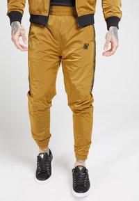 SIKSILK - TAPED JOGGERS - Pantaloni sportivi - golden mustard - 0