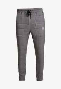 SIKSILK - SMART JOGGER PANT - Bukse - beige dogtooth - 3