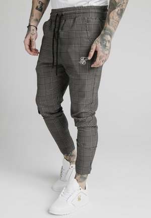 SMART JOGGER PANT - Pantalones - beige dogtooth