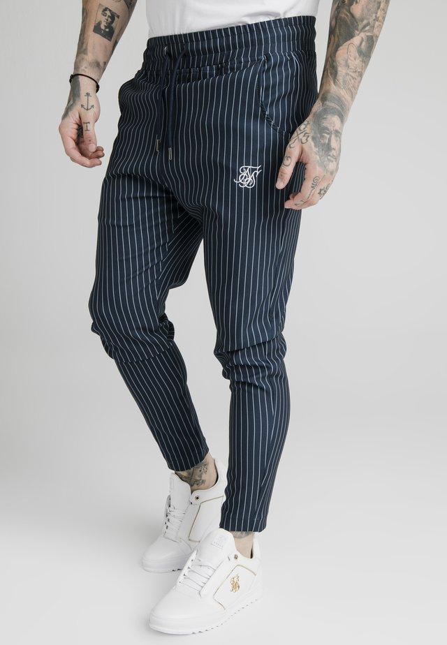 SMART JOGGER PANT - Pantalon classique - navy/grey