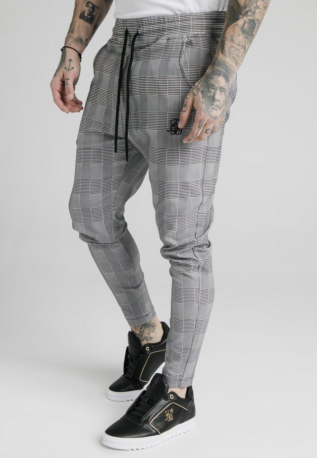 SMART - Pantalon de survêtement - black/grey/white