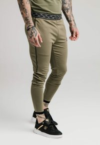SIKSILK - SCOPE TRACK PANTS - Trainingsbroek - khaki - 0