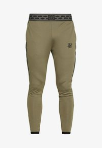 SIKSILK - SCOPE TRACK PANTS - Tracksuit bottoms - khaki - 3