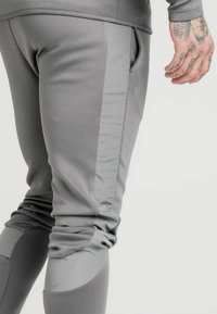 SIKSILK - CREASED PANTS - Tracksuit bottoms - grey - 4