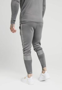 SIKSILK - CREASED PANTS - Tracksuit bottoms - grey - 2