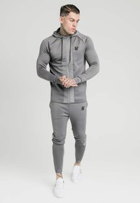 SIKSILK - CREASED PANTS - Tracksuit bottoms - grey - 1