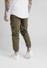 SIKSILK - CUFF PANTS - Cargo trousers - khaki - 2