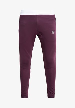 EVO HYBRID  - Pantalon de survêtement - rich burgundy