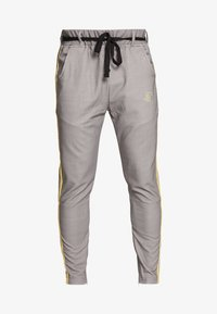 SIKSILK - FITTED SMART TAPE JOGGER PANTS - Broek - grey - 3