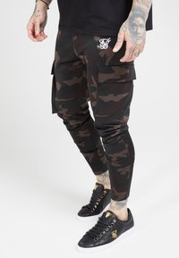 SIKSILK - ATHLETE PANTS - Trainingsbroek - dark - 0