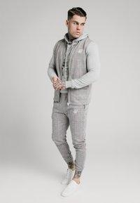 SIKSILK - SMART CUFF PANTS - Broek - grey/pink - 1