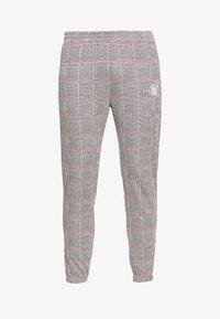 SIKSILK - SMART CUFF PANTS - Broek - grey/pink - 3