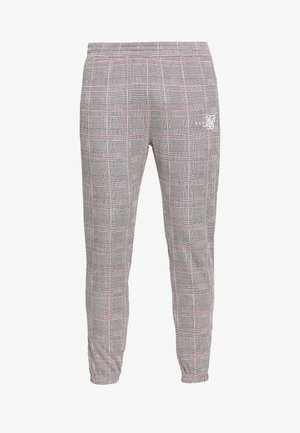 SMART CUFF PANTS - Trousers - grey/pink