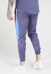 SIKSILK - FITTED FADE CUFFED PANTS - Pantalon de survêtement - tri neon - 2
