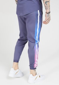 SIKSILK - FITTED FADE CUFFED PANTS - Pantalon de survêtement - tri neon - 4