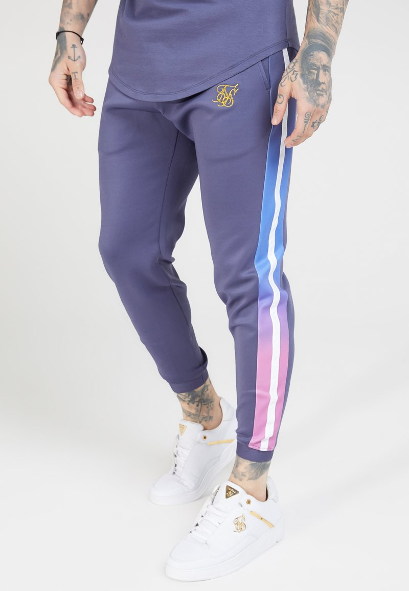 SIKSILK - FITTED FADE CUFFED PANTS - Pantalon de survêtement - tri neon