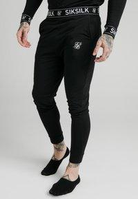 SIKSILK - LOUNGE PANTS - Teplákové kalhoty - black - 0