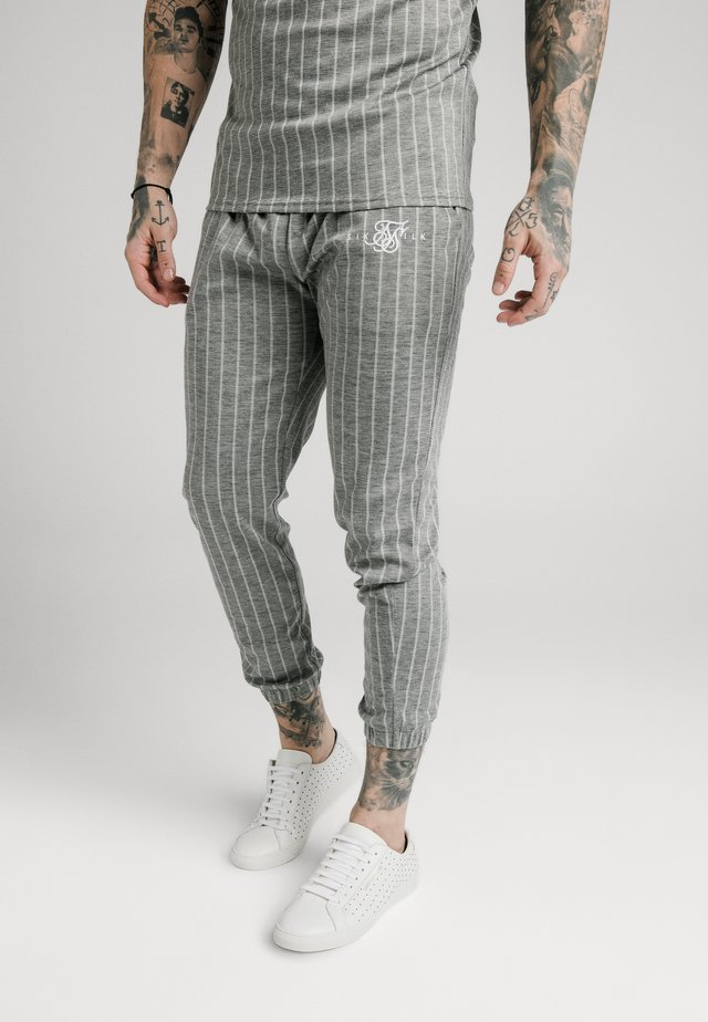 Jogginghose - grey pin stripe