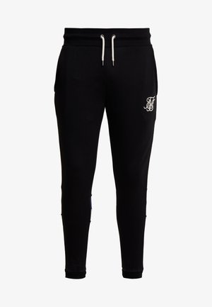 RETRO PANEL TAPE - Trainingsbroek - black