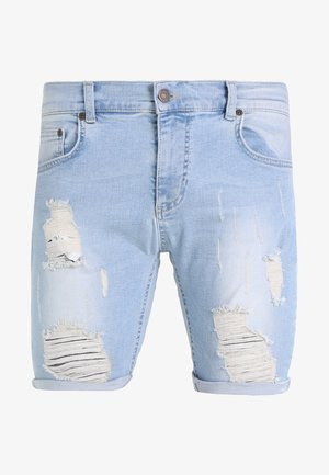 DISTRESSED - Short en jean - light wash