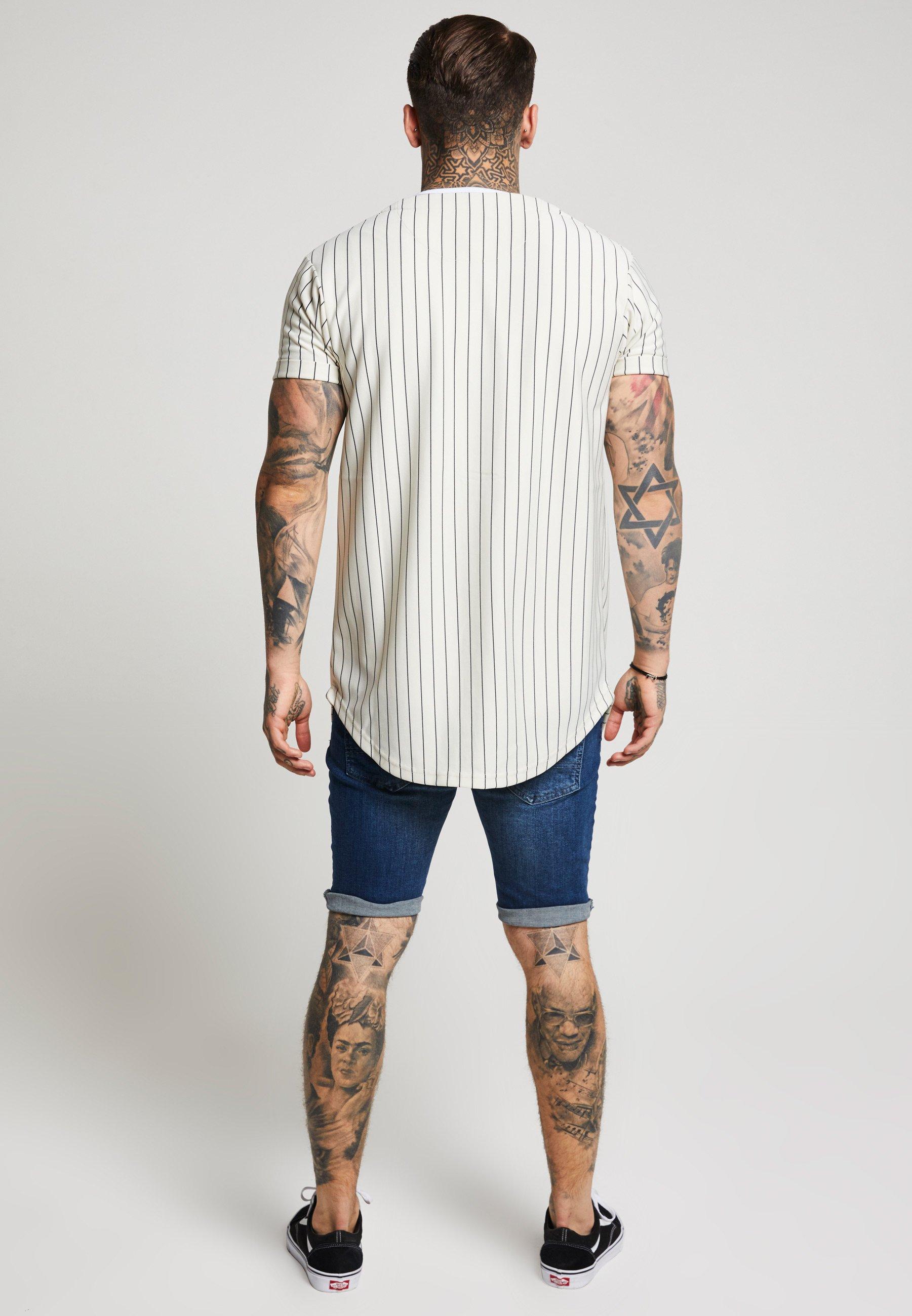 Siksilk Distressed - Jeansshorts Midstone
