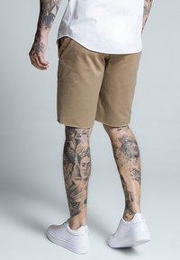 SIKSILK - RAW HEM - Shorts - beige - 2