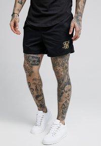 SIKSILK - STANDARD - Shorts - black/gold - 4