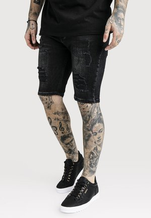Short en jean - washed black